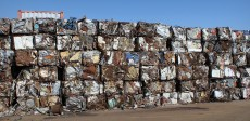 E1B old baled sheet waste