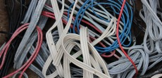 Insulated aluminium cables