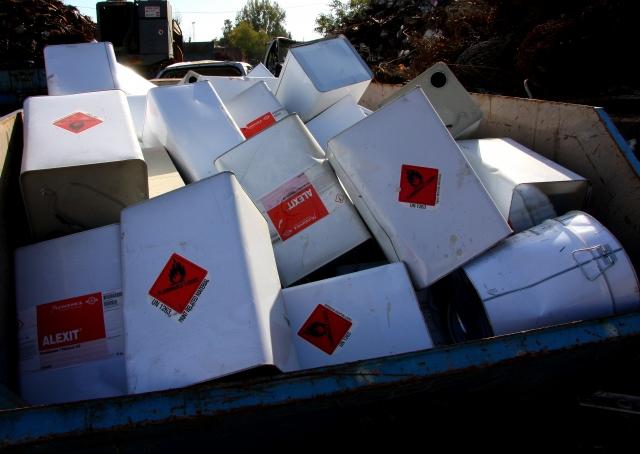 Veszélyes hulladék átvétel Pécs, Mohács, Villány